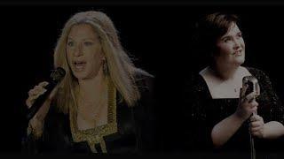 Susan Boyle & Barbra Streisand..Send In The Clowns..(Mix) from A Little Night Music