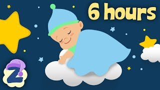 6 Hours of Relaxing Lullabies for Babies & Toddlers 🍼💤Non Stop Bedtime Music 🎵by Zouzounia TV