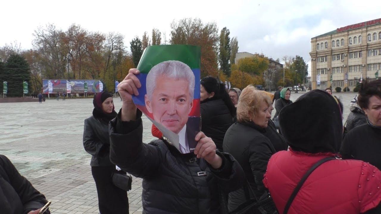 """Торговцы """"Дагэлектромаша"""" не добились встречи с главой Дагестана"""