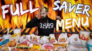 Eating The Entire Burger King Saver Menu | The Chronicles of Beard Ep.54