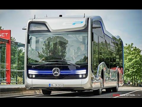 Transportation Design: Mercedes-Benz 'Future Bus'
