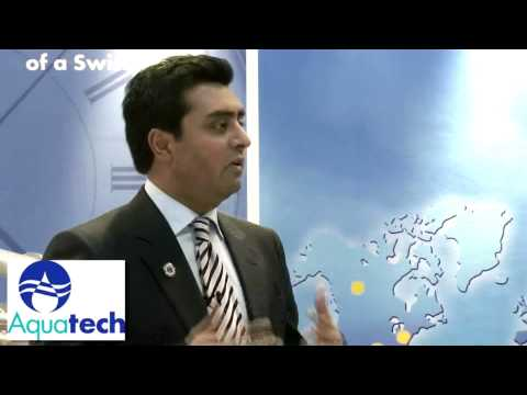 Devesh Sharma talks about Aquatech's focus on Solving the World's Water Scarcity Challenges