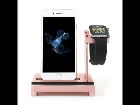 Multi-function Charging Dock Station Apple Watch Charger Holder Stand