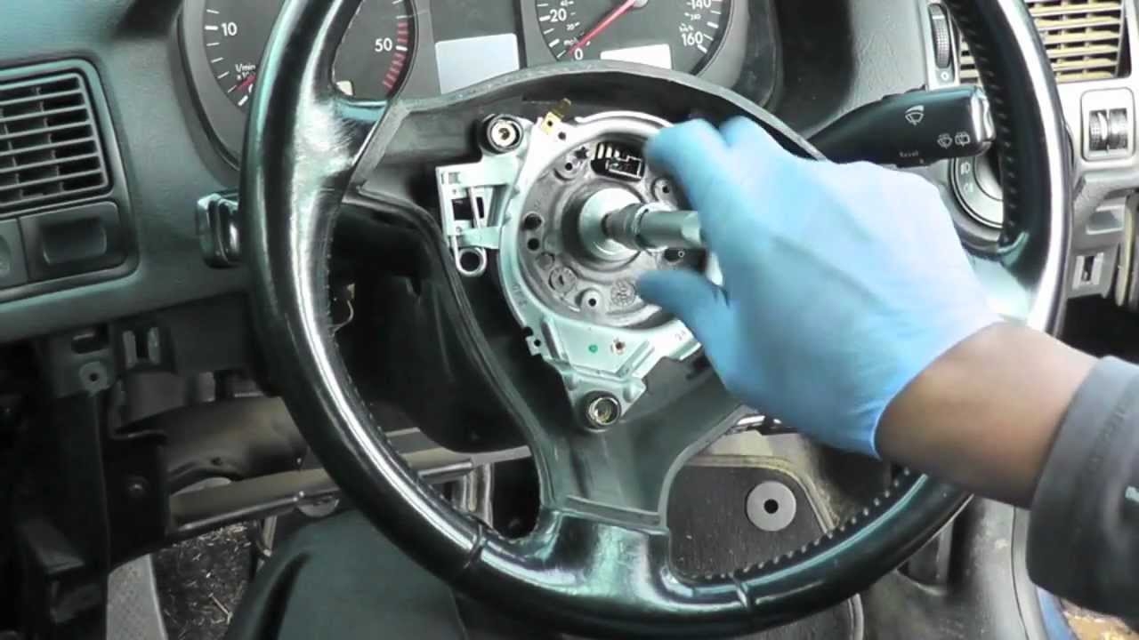 Volkswagen Golf Jetta Steering Wheel Amp Airbag Removal