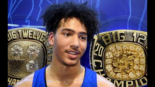 KU Jayhawks transfer Jalen Wilson gets his first taste of playing in Allen Fieldhouse
