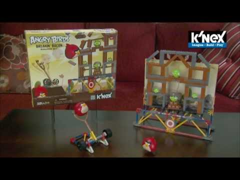 Build A Truck >> K'NEX Angry Birds Building Sets: BREAKIN' BACON - YouTube