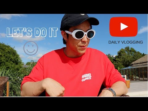 LET THE DAILY VLOGGING BEGIN!!! | KAYAVINE