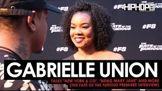 """Gabrielle Union Talks New York & Co, """"Being Mary Jane"""" & More at The Fate of The Furious Screening"""