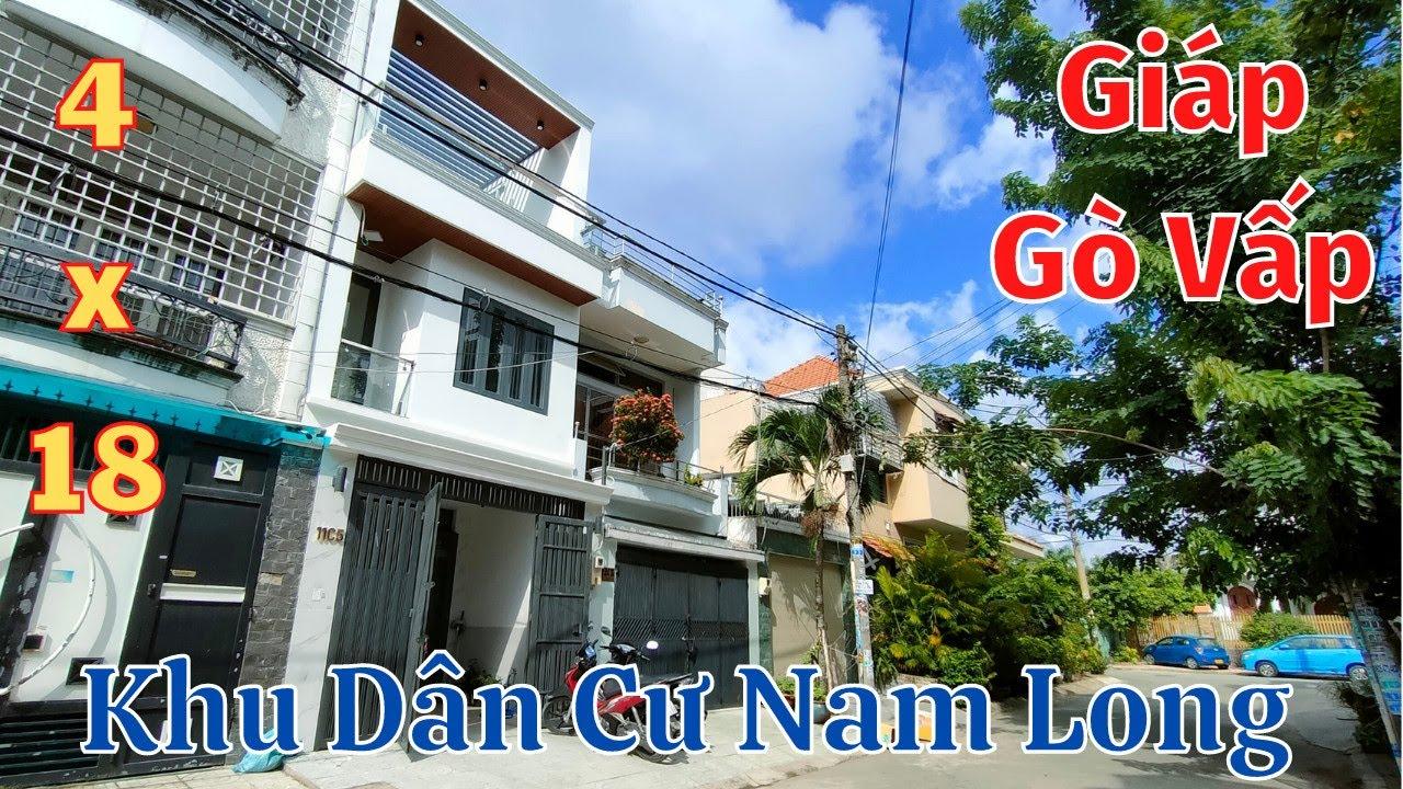 Nhà mặt tiền Khu Nam Long giáp Gò Vấp, hạ giá 300tr trong tháng 6 video