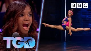 Pocket-rocket Shyla WOWS with explosive moves! 🚀 - The Greatest Dancer | Auditions