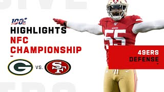 49ers Defense Shuts Down Aaron Rodgers   NFL 2019 Highlights