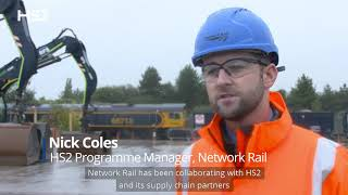 HS2 welcomes first delivery of construction materials by rail