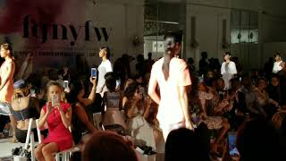 NYFW Mychael Knight final run 2017 MKKM Experience