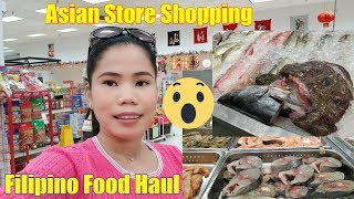 Filipina Married To American Life In America   Trip To Asian Store  Grocery  Shopping Filipino Food