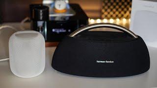 Apple HomePod vs HarmanKardon Go+Play - Sound comparison...