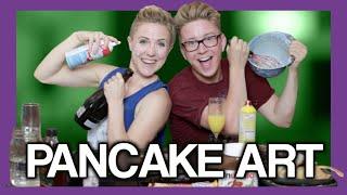 Pancake Art FAIL (ft. Hannah Hart) | Tyler Oakley