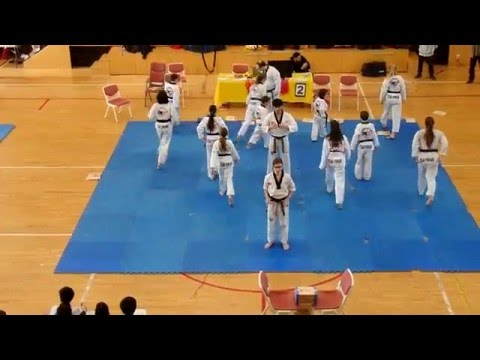 Demo Team Exhibition at the 2016 NY Sport TKD Championships