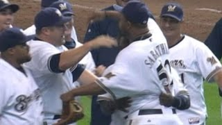 CHC@MIL: Sabathia goes distance, helps Brewers clinch