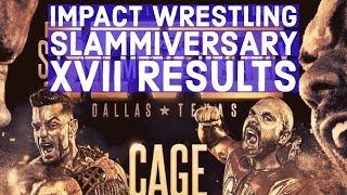 Rhyno Shows Up At Tonight's Impact Slammiversary XVII PPV
