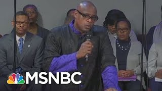 With Mike Pence In Front Row, Pastor Rips Into Donald Trump   All In   MSNBC