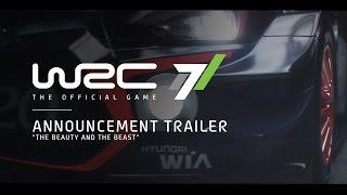 WRC 7 - Announcement Trailer