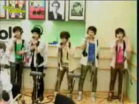 [260908] Sukira - Shinee Love like oxygen
