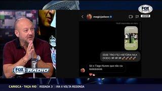 """JADSON EXPÕE MÁGOA COM TIAGO NUNES! """"Fox Sports Rádio"""" debate comentário de ex-Corinthians"""