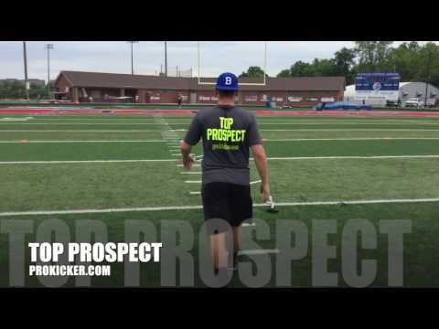 Zachary Clements, Field Goals, Ray Guy Prokicker.com Top Prospect Camp 2016