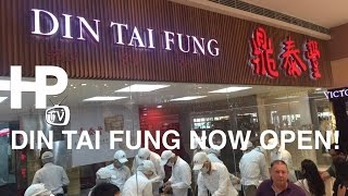 Din Tai Fung Manila Philippines Now Open SM Megamall Mega Fashion Hall by HourPhilippines.com