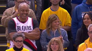 All Of Dell And Sonya Curry's Reactions From Game 2 | WCF