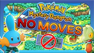 Can You Beat Pokemon Mystery Dungeon Red Rescue Team Without Ever Using A Move?!