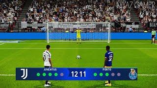 PES 2021 | Juventus vs Porto | Penalty Shootout | UEFA Champions League Gameplay - Ronaldo vs Porto