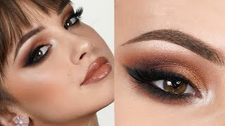 EXTRA GLAM Makeup Tutorial | Bold Smokey Eye