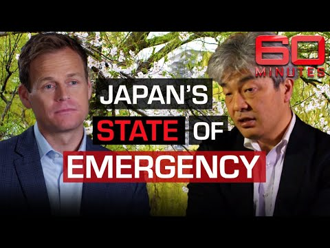 Japanese island's second wave warning: COVID-19 cases jump as lockdown lifted | 60 Minutes Australia