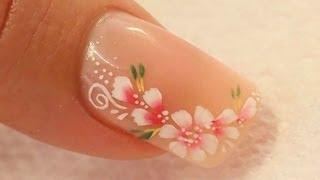 Nude Acrylic Nail Art Using Cover Pink Acrylics Tutorial