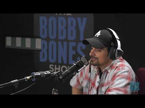 Brad Paisley On The Bobby Bones Show