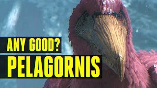 Pelagornis - How to Tame/Everything you need to know! (Ark: Survival Evolved)