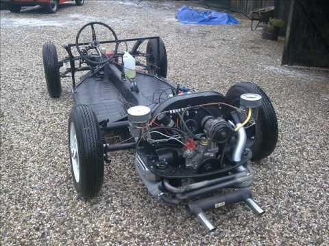 porsche 356 speedster replica chassis building youtube. Black Bedroom Furniture Sets. Home Design Ideas