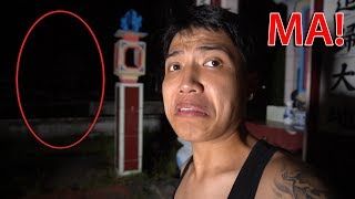 NTN - Thử Thách 24H Ngoài Nghĩa Địa Gặp MA ! (  Cemetery seeing ghost 24h challenge )