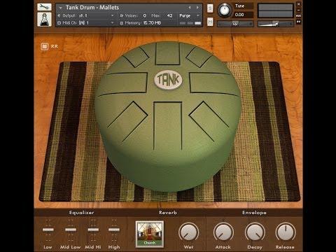 AudioThing - Tank Drum Walkthrough