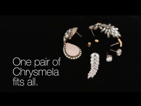 Lost earrings no more! How to lock your earrings with Chrysmela