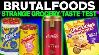 Strange Grocery Taste Test!