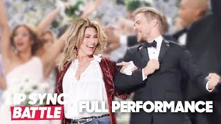 "Derek Hough Proposes 💍 to Shania Twain (""From This Moment On"") 