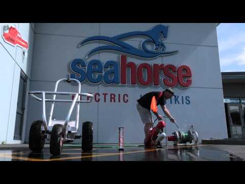 Seahorse Kontiki - Cleaning your Kontiki after Fishing