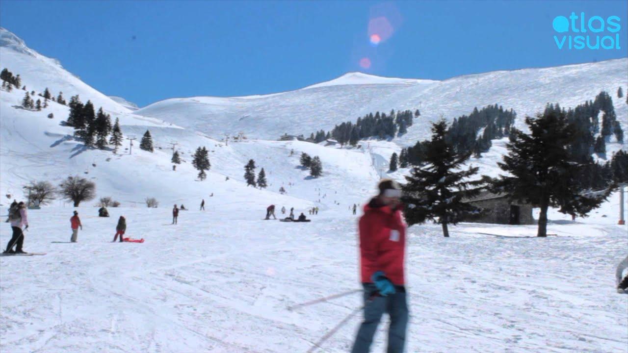 Kalavryta Ski Resort Peloponnese