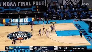Jalen Suggs Buzzer Beater | Gonzaga vs UCLA | NCAA Final Four