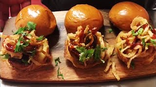 Grilled Pork Sliders with Sweet & Spicy...
