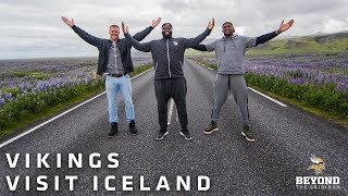 Beyond The Gridiron: Minnesota Vikings Players Visit Iceland
