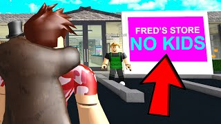 Owner Made NO KIDS RULE.. So I Let EVERY KID In! (Roblox)