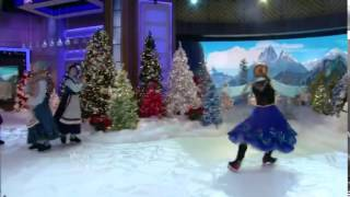Disney on ice presents frozen Live with Kelly and Michael